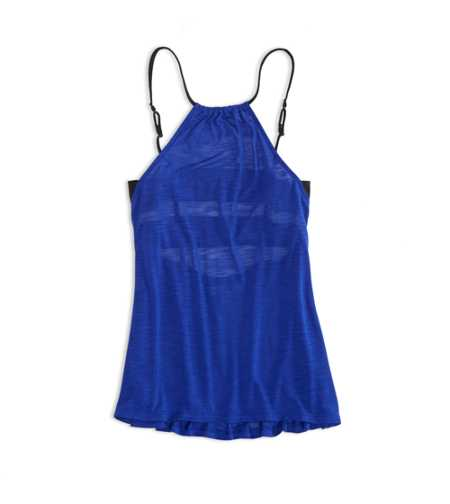 AE Open Back Halter Tank - Check out the back!