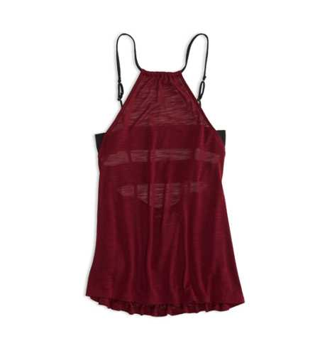 AEO Open Back Halter Tank - Check out the back!