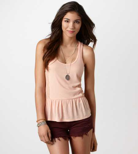 AE Peplum Cami - Take 40% Off