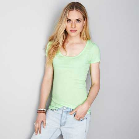 AE Real Soft® Favorite Scoop T-Shirt