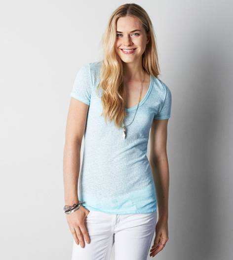 Clearwater AEO Real Soft® Favorite V-Neck T-Shirt