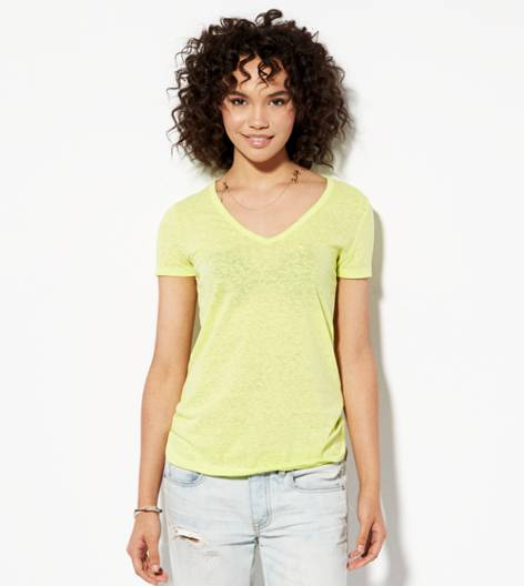 Kiwi Blast AEO Real Soft® Favorite V-Neck T-Shirt
