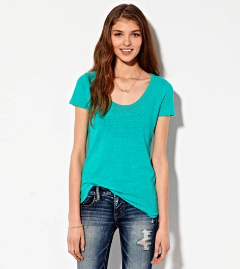 Seagrass AEO Real Soft® Favorite Scoop T-Shirt