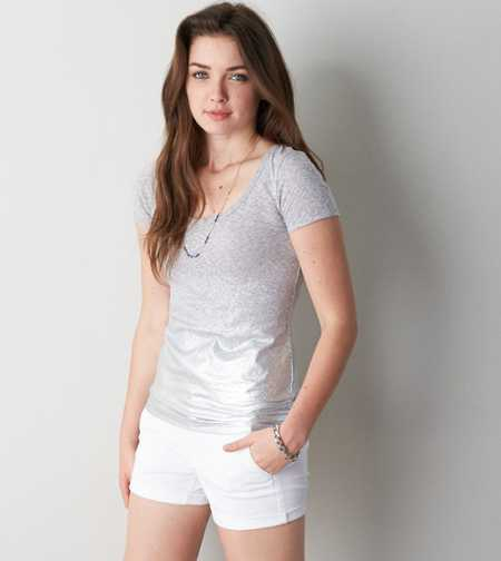 AEO Ombre Scoop Neck T-Shirt - Buy One Get One 50% Off