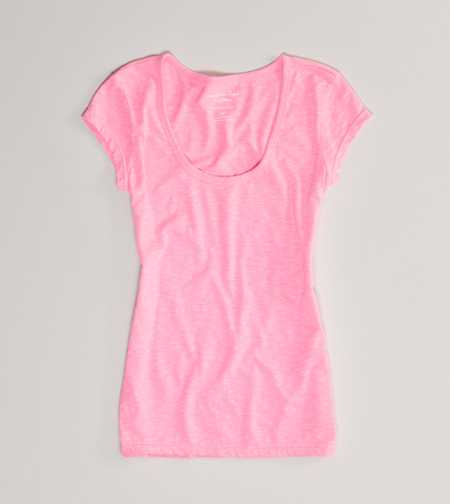 AE Favorite Scoop Tee