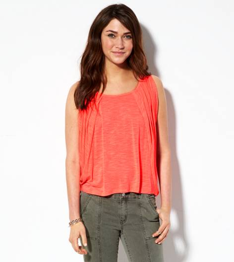 Neon Paradise AE Open Shoulder T-Shirt