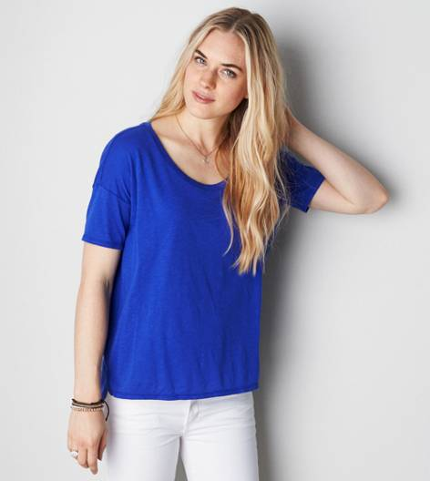 Electric Cobalt AE Pocket T-Shirt