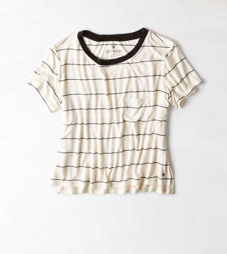 AEO Soft & Sexy Striped T-Shirt