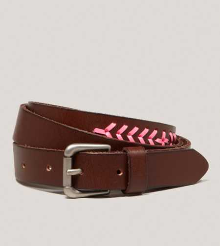 AEO Laced Leather Belt