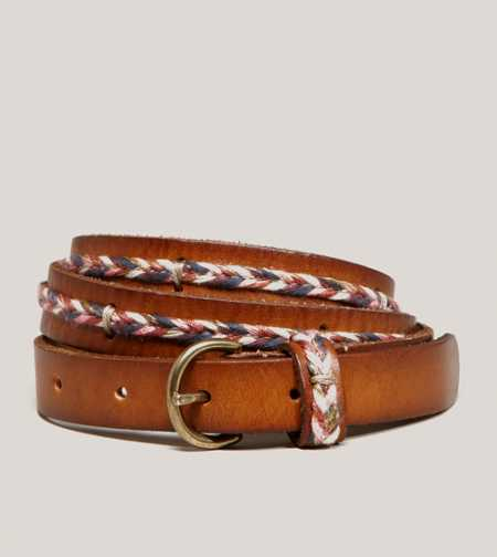 AEO Center Braid Belt - Take 40% Off