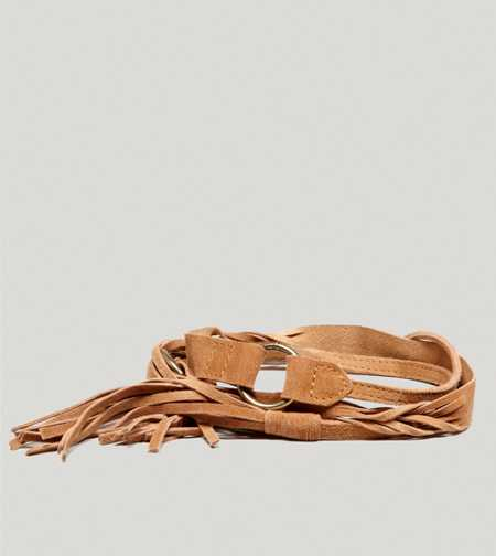 AEO Suede Tassel Belt - Take 40% Off