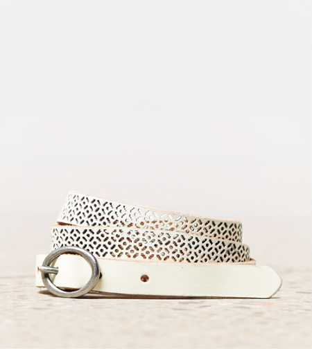 AEO Perforated Leather Belt