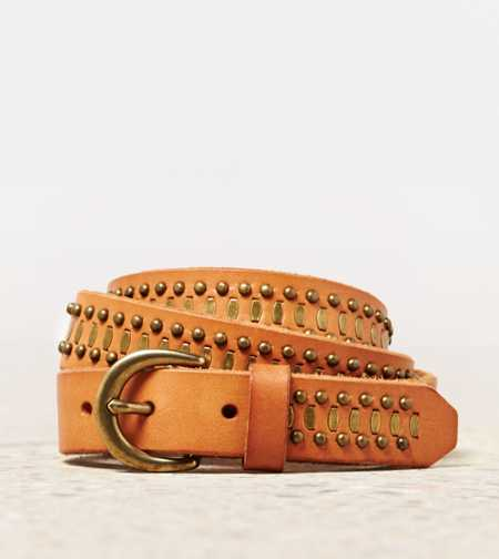 AEO Studded Leather Belt