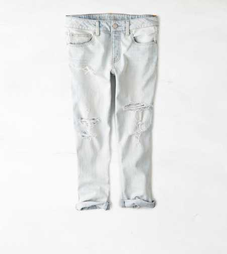 Boy Jean Crop - Light Destroy