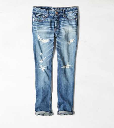 Boy Jean Crop - Medium Destroy
