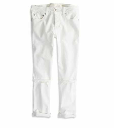 Boy Jean Crop - Low Rise - Rigid