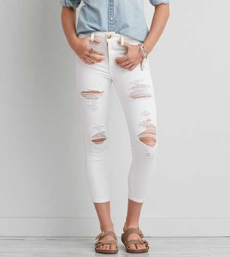 AEO Denim X Hi-Rise Jegging Crop