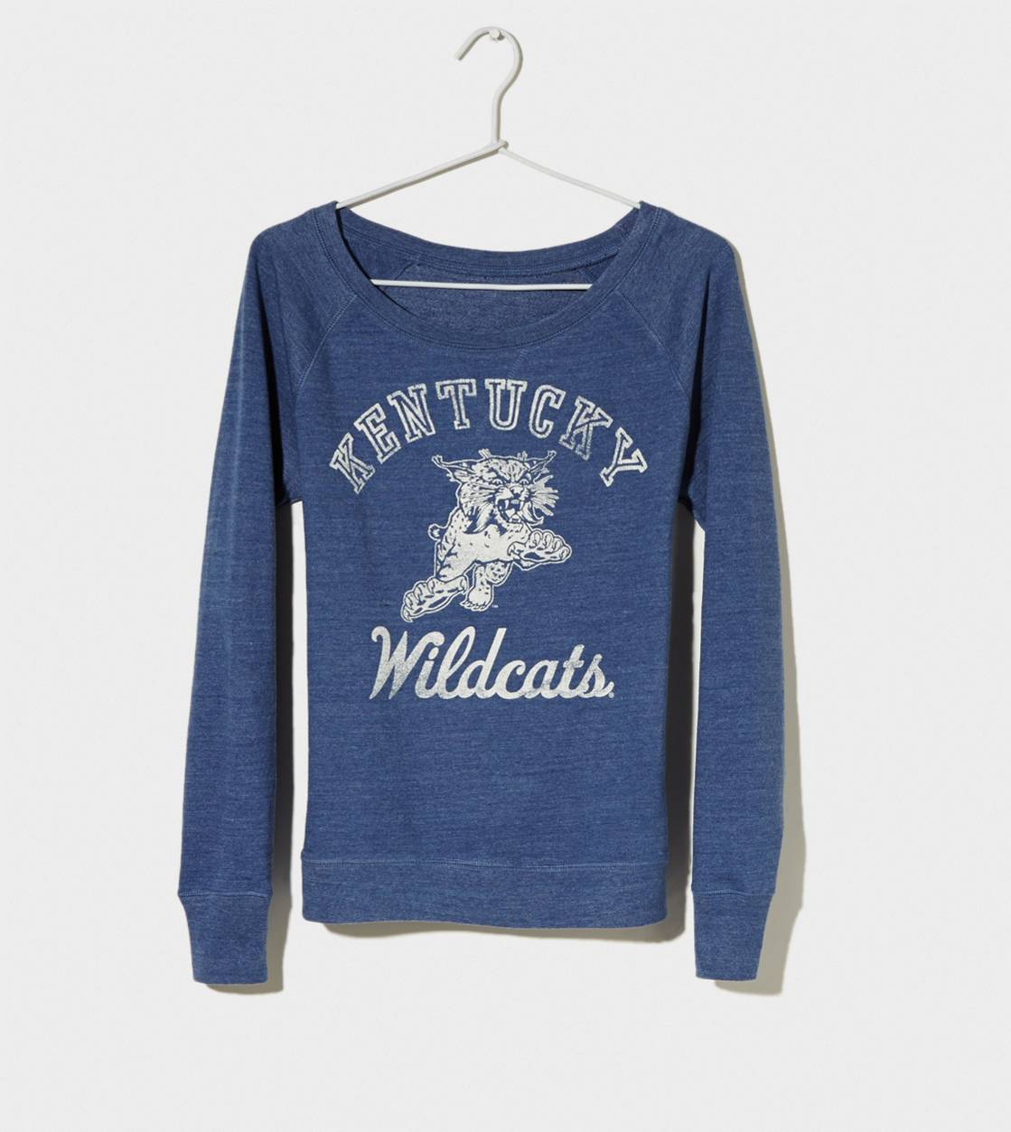 Blue Kentucky Vintage Raglan T-Shirt