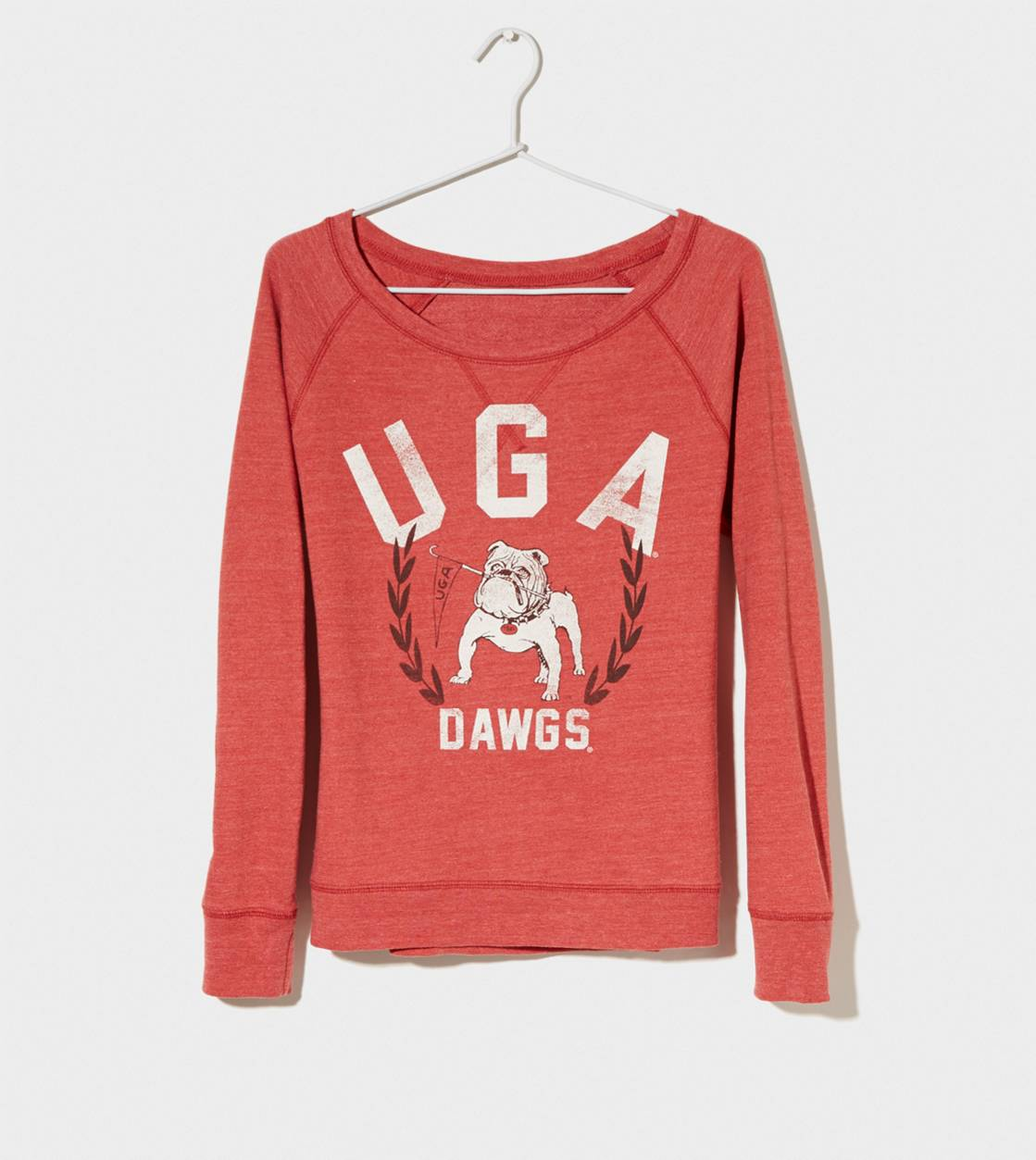 Red Georgia Vintage Raglan T-Shirt