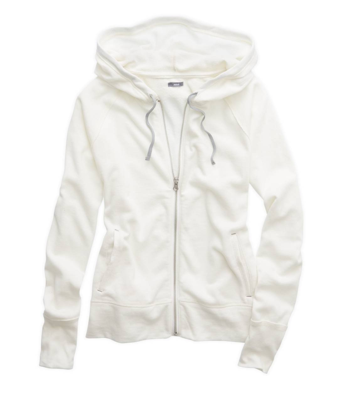 Soft Muslin Aerie Full Zip Hooded Sweatshirt