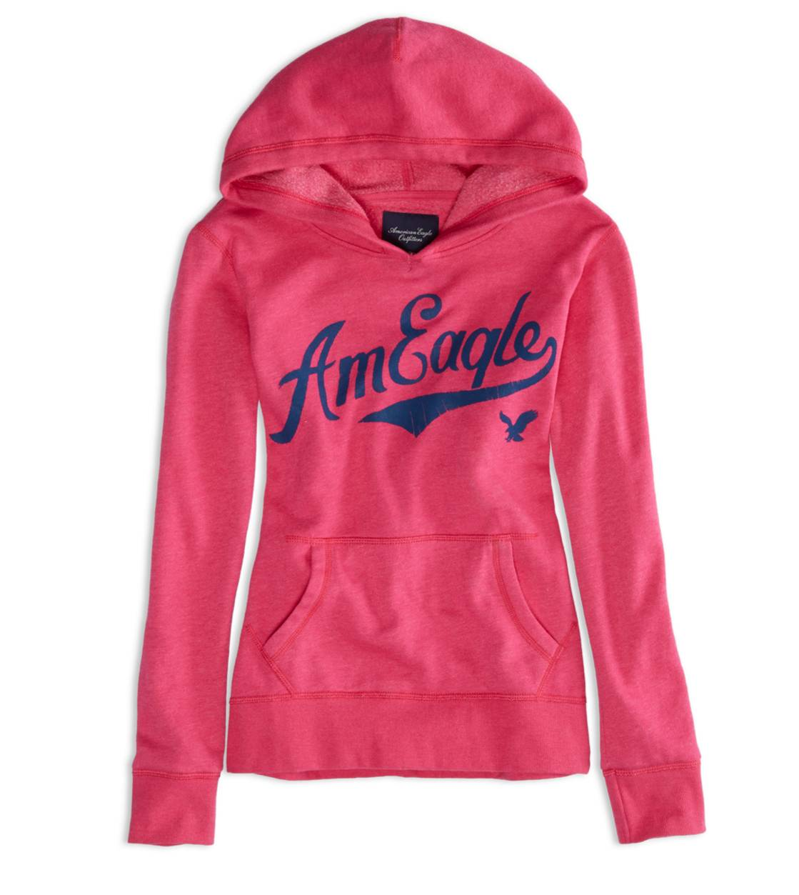 Pink Passion AEO Factory Hooded Pop Over