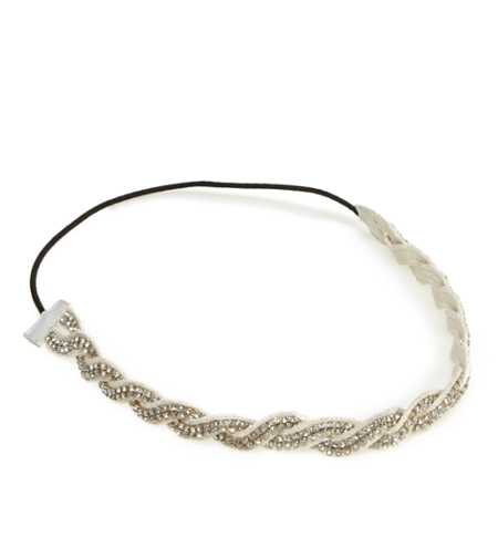 Aerie Sparkle Braided Headband