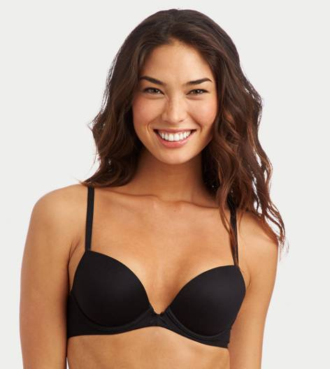 True Black Lexi Pushup Bra