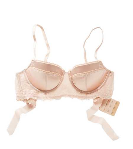 Holly Bow Longline Pushup Bra - Free Shipping & Returns