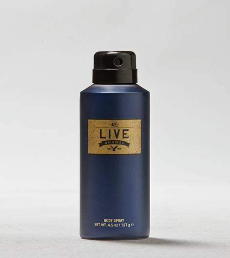 Blue AE Live 4.5 Oz. Body Spray For Him
