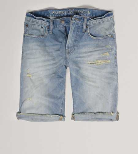 AE Destroyed Denim Cutoff Short