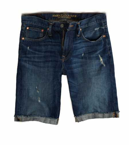AE Destroyed Denim Short