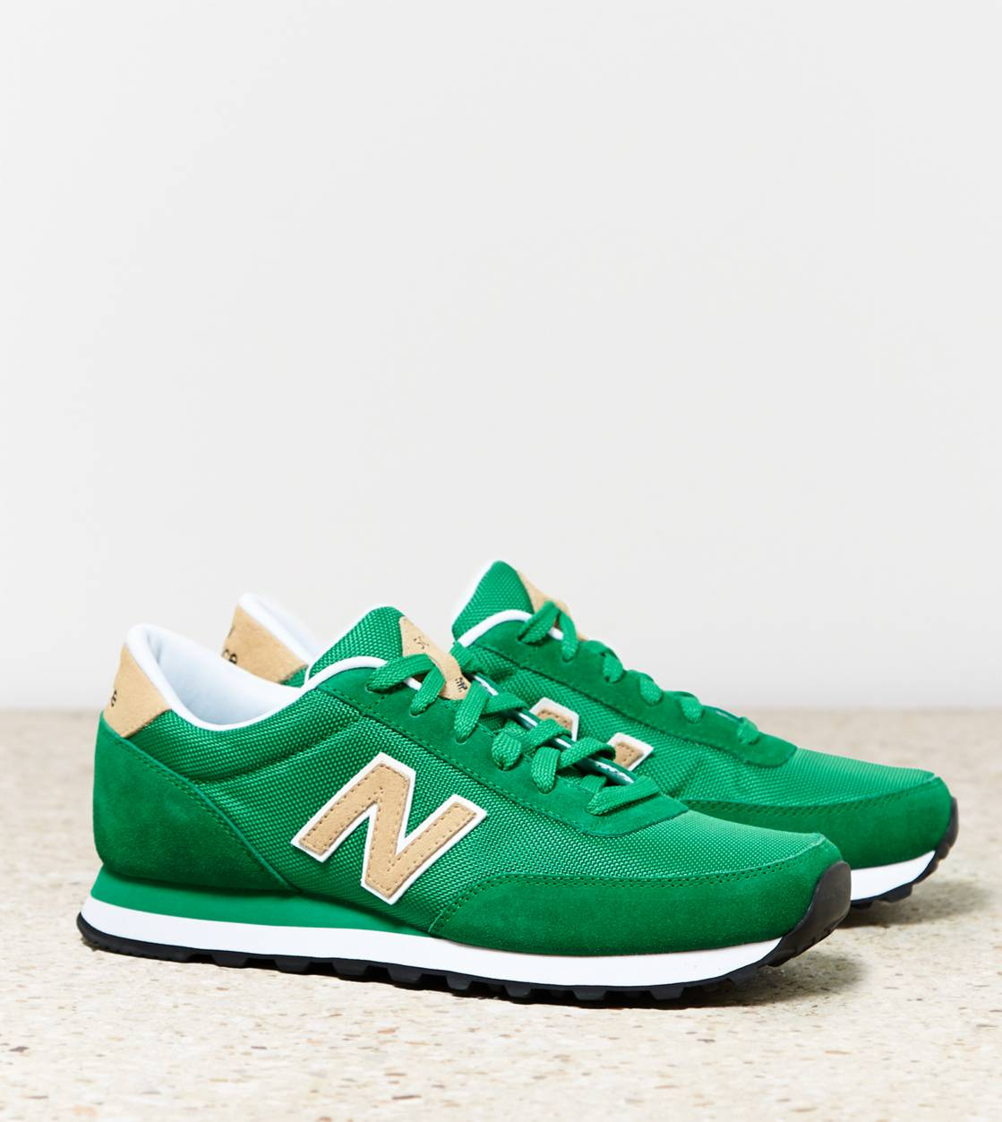 Green New Balance 501 Sneaker