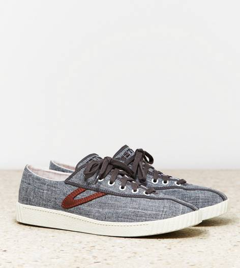 Grey Tretorn Nylite Canvas Sneaker