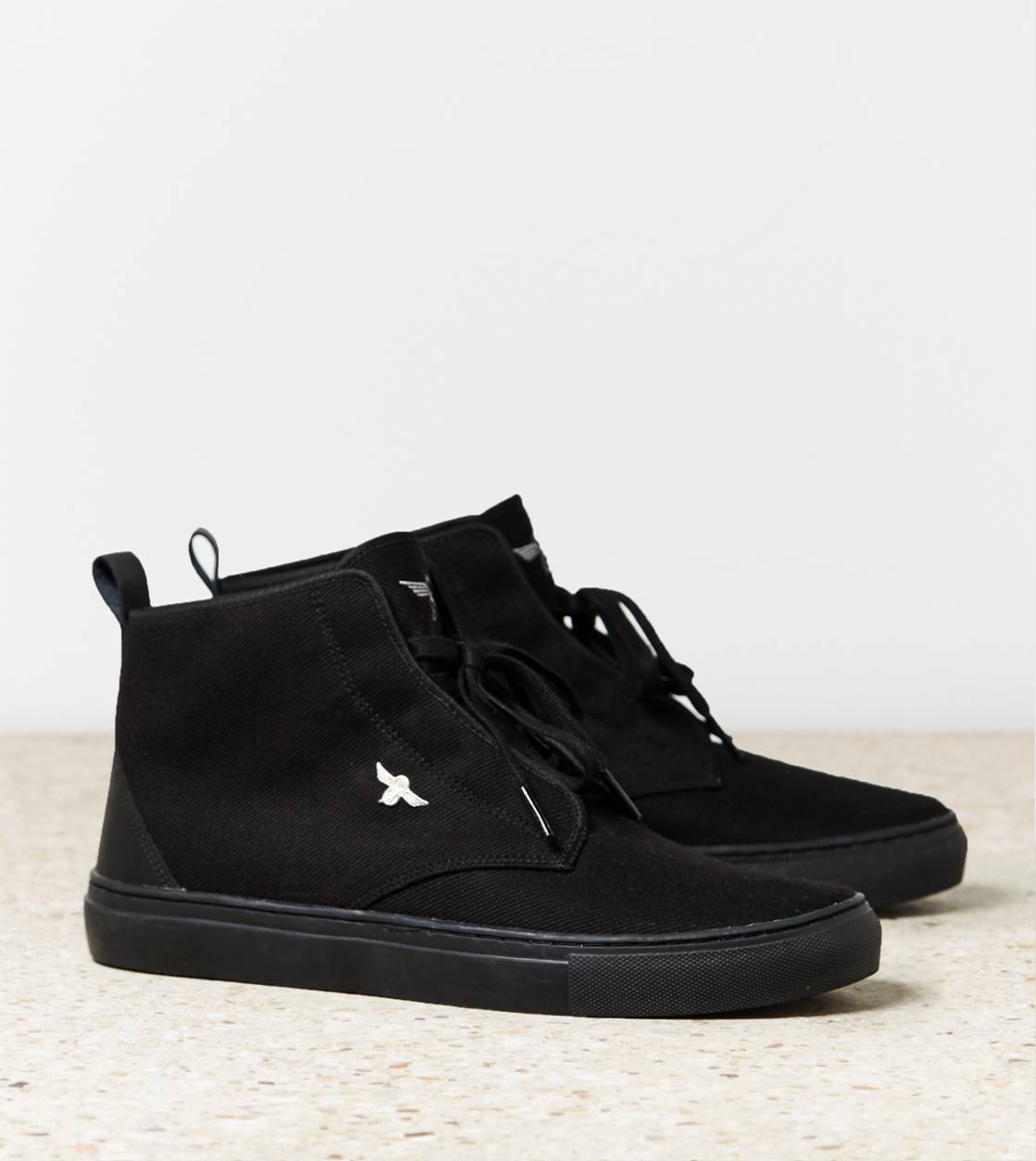Black Creative Recreation Hi-Top Sneaker