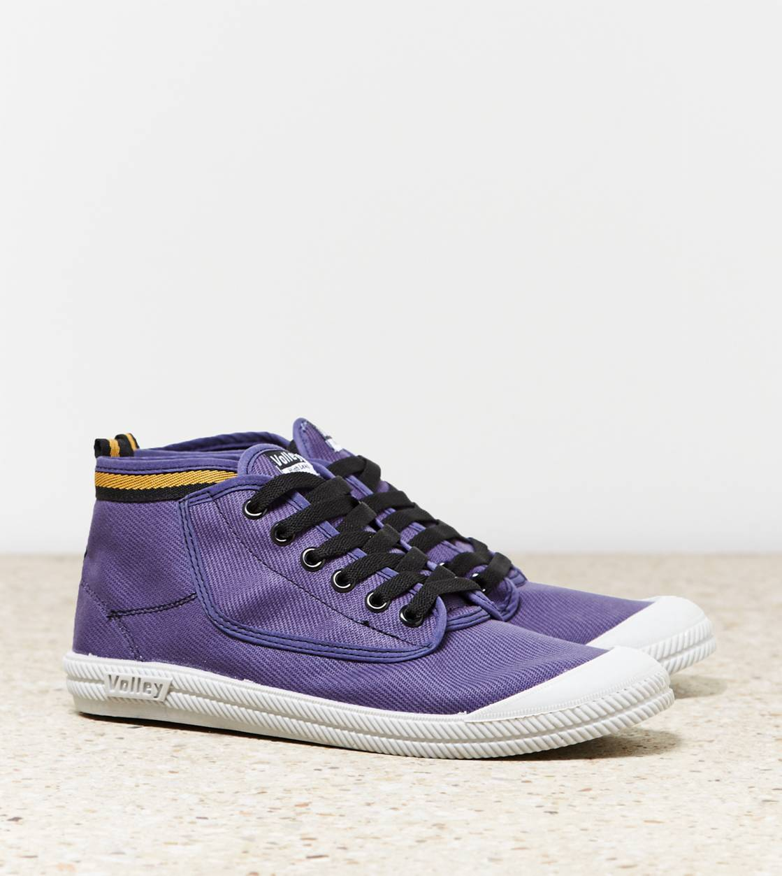 Navy Volley High Leap Sneaker