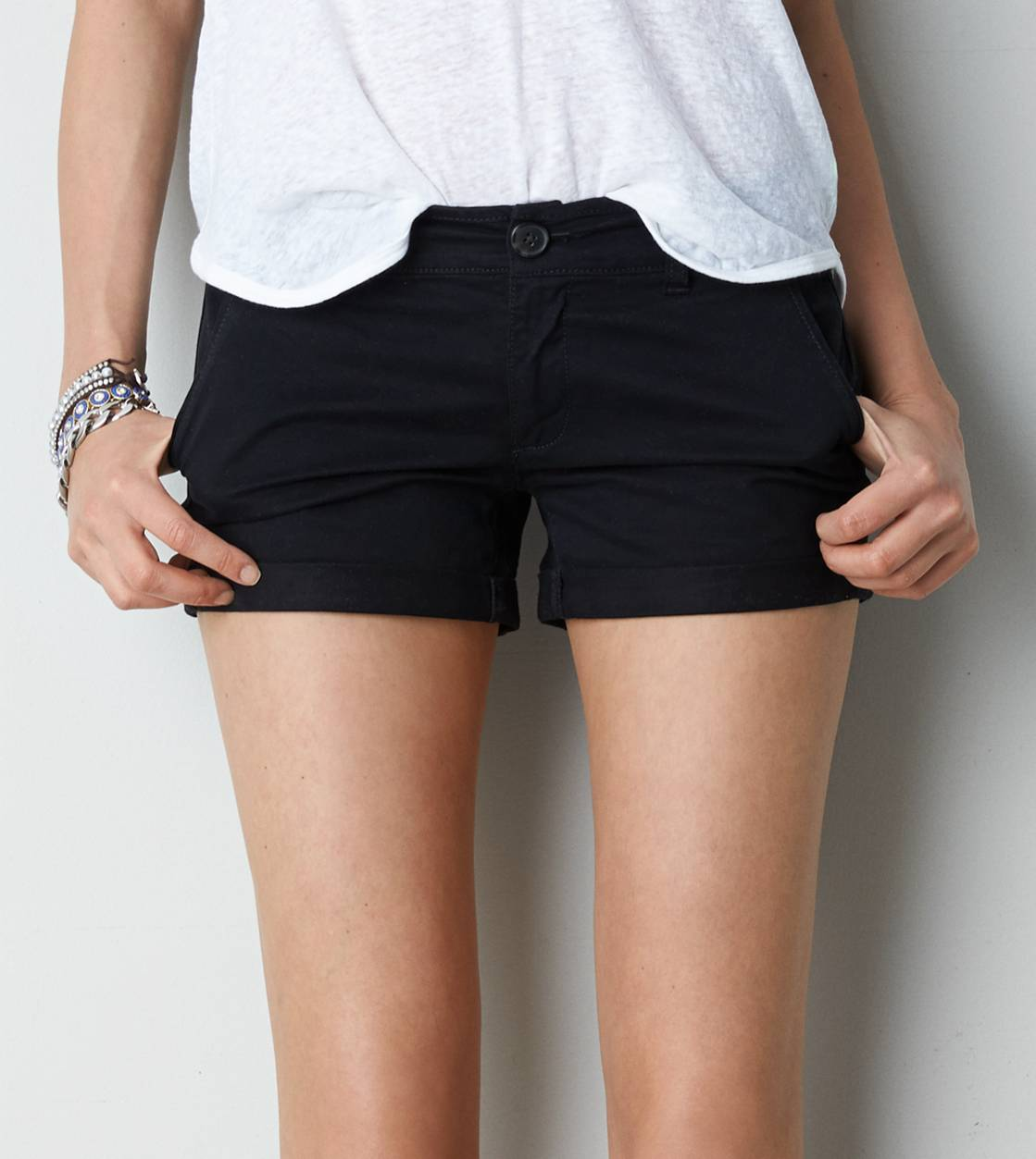 Black AE Midi Short