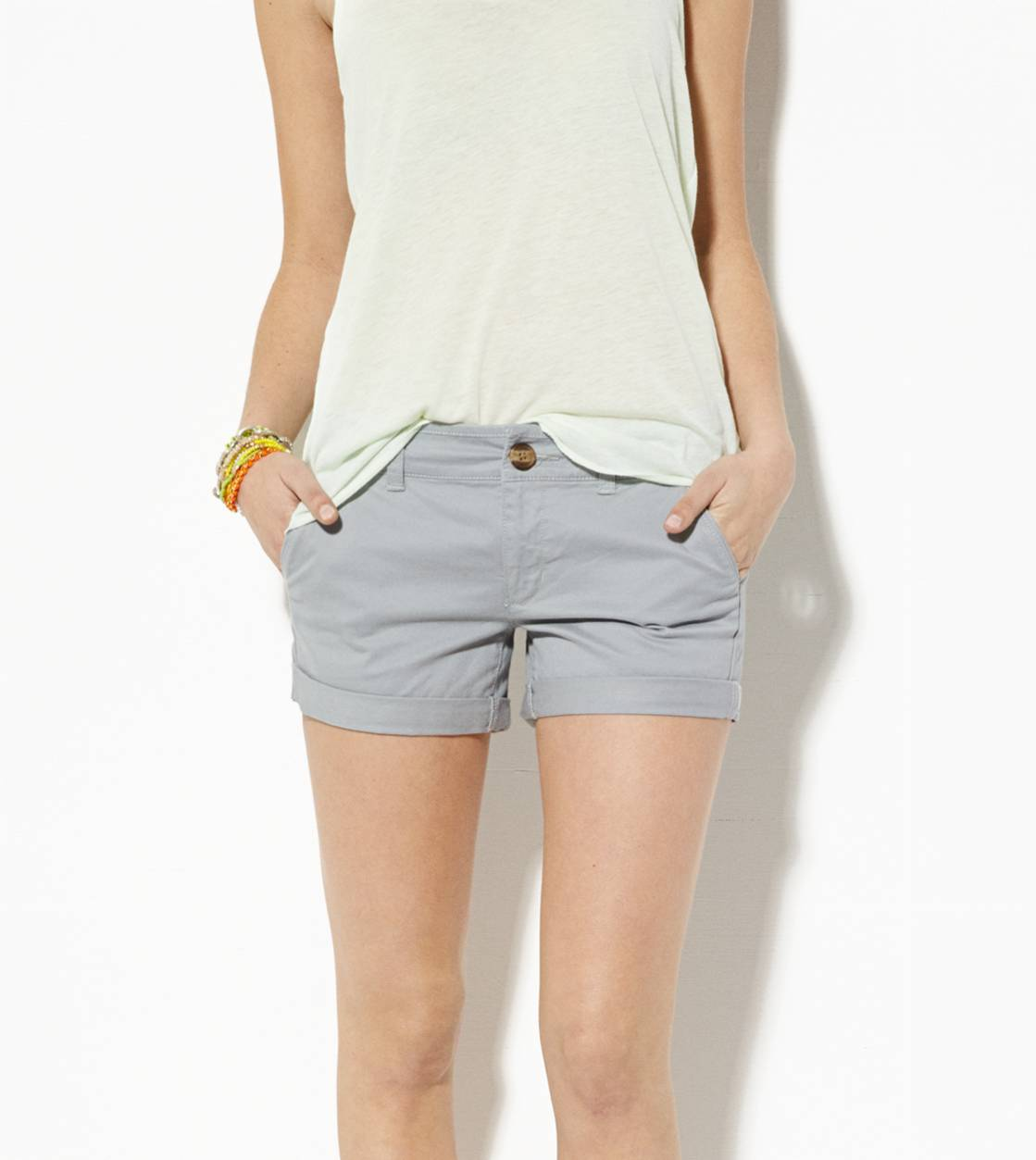 Grey AE Midi Short
