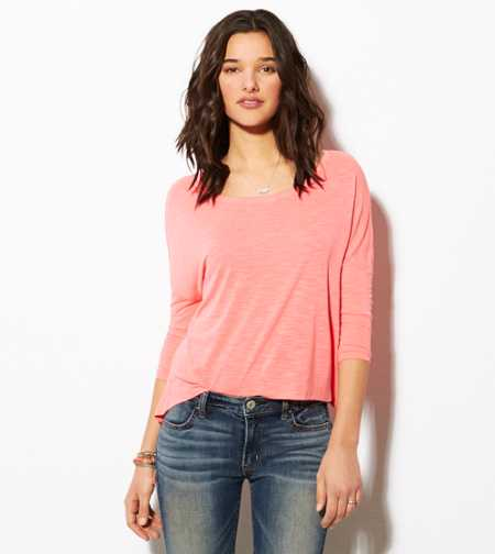 AE Cropped Dolman T-Shirt