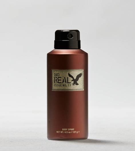 Brown AE Real 4.5 Oz. Body Spray For Him