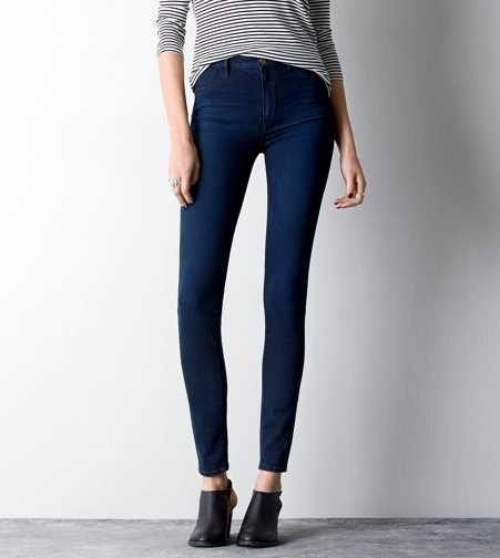 Sky High Jegging - Dark Indigo Glow