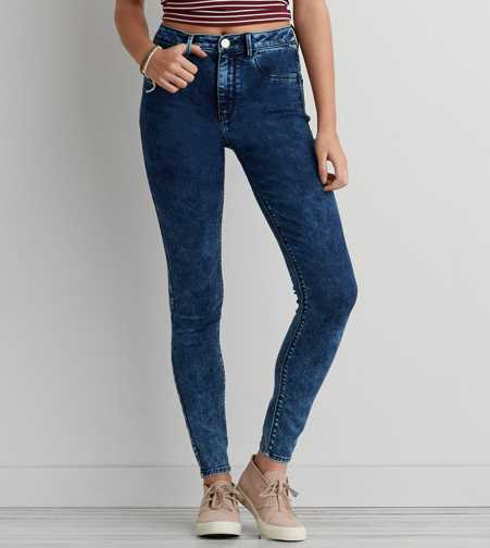 Sky High Jegging - Bright Tumble