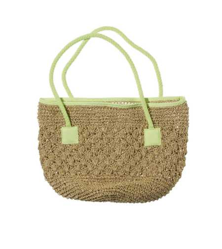 Aerie Straw Beach Bag