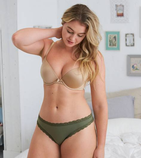 Light Cashew Brooke Pushup Bra