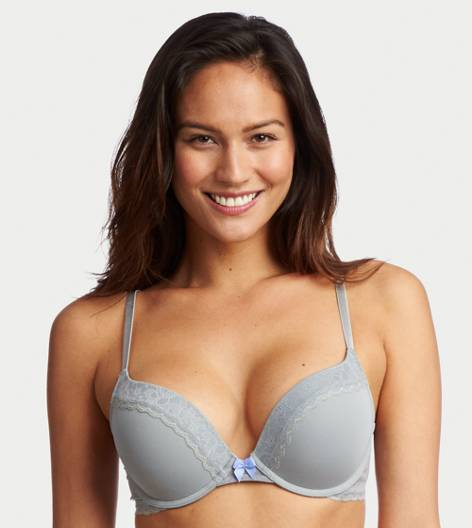 Silver Shadow Brooke Pushup Bra
