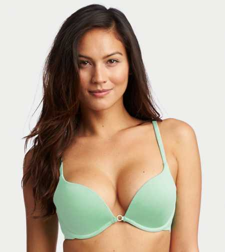 New! Charley Cotton Pushup Bra - Free Shipping & Returns