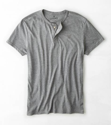 Gravel AEO Legend Henley T-Shirt