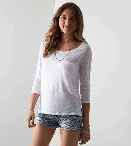 AEO Real Soft® Favorite Pocket T-Shirt - Buy One Get One 50% Off