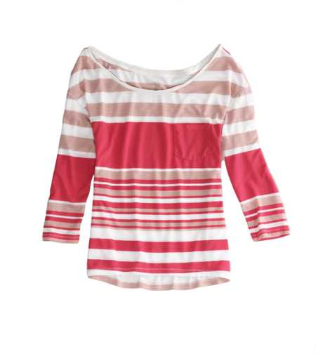 AE Feather Light Striped Tee