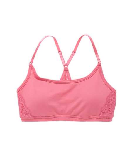 Aerie FIT Lace Racerback Bra - Take 40% Off