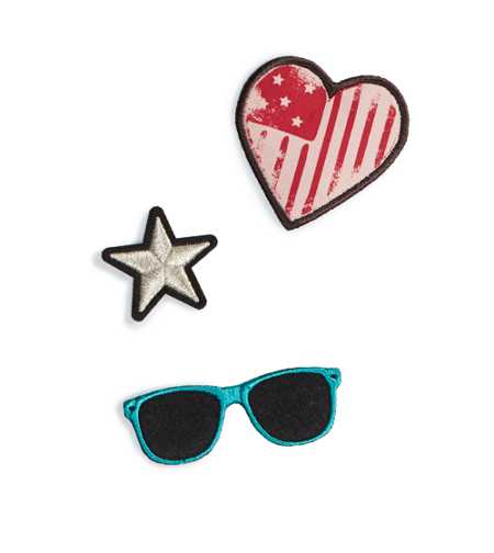 AEO Star Patch Pack
